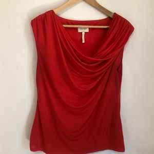 Laundry by Shelli Segal Coral Size Large tank top